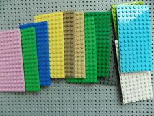 Lego Plate 8 x 16 part 92438 Baseplate Building Platform Pick your color