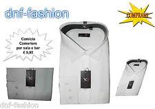 Camicia classica uomo Bianca da Lavoro Per Bar Ristoranti o Per Uso Casual  127