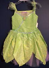 New Disney Store 2011 TINKER BELL Costume Dress L 10
