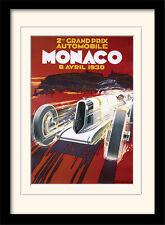 CLASSIC GRAND PRIX encadrée & monté Art & photographie Imprime Monaco affiches F1