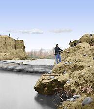 African American Freedman Dutch Gap Canal Color Tinted photo Civil War 02192