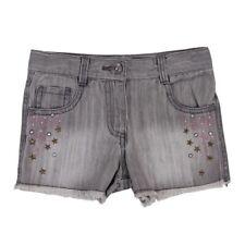 cortos vaqueros gris para chica VON BOBOLI TALLA 98 104 110 116 128 140 152 164