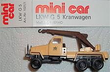 G 5 Camion grue LKW Tb mini car OVP 1:87 HN2å