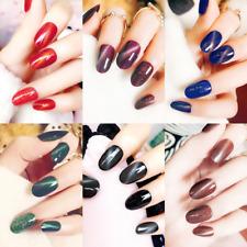 24pcs UV Gel Artificial Nails False Nail Art Tips Full Cover Fake Finger Nails
