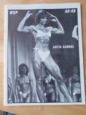 WSP  female bodybuilding muscle magazine/ANITA GANDOL #68-69