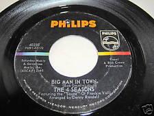 4 SEASONS-BIG MAN IN TOWN/LITTLE ANGEL rock 45