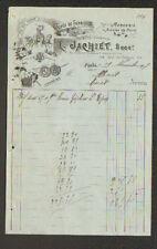 """PARIS (III°) COMMERCE de MERCERIE en gros """"L. JACHIET"""" en 1907"""