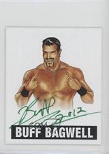 2012 Leaf Originals Wrestling #BB3.2 Buff Bagwell (Green Ink) Auto Card