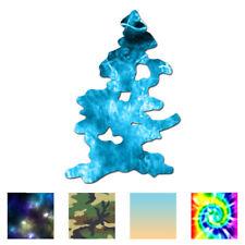 Pine Tree Drawing Art - Vinyl Decal Sticker - Multiple Patterns & Sizes - ebn528