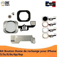 haute qualité kit bouton home empreinte digitale pour iphone 5/5s /6/6s/6splus