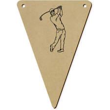 'Golf Balançoire' drapeaux en bois (vBN0002861)