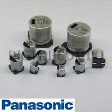 Condensateur SMD Panasonic 6.3V 105° Low ESR valeur choix PRE-ORDER 5-7 DAYS