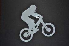 SANCTUARIES EDGE 15CM MOUNTAIN BIKING BIKE STICKER DECAL OFF ROAD CYCLING