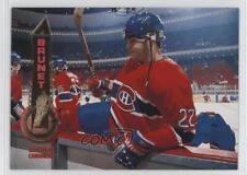 1994-95 Pinnacle #452 Benoit Brunet Montreal Canadiens Hockey Card