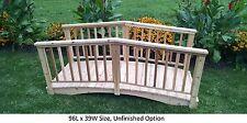 Amish-Made Weight-Bearing Cedar Baluster Bridge - Bridges In 8 Sizes & 9 Colors