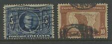 USA 1904 Louisiane 5c + 10c... bon son utilisé