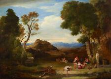 Charles Lock: Eastlake Classical Landscape. Art Print/Poster (4444)
