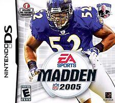 Madden NFL 05 (Nintendo DS, 2004) -New