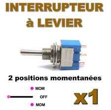 938/1# Interrupteur à levier MOM-OFF-MOM 1pc