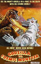 Godzilla vs Cosmic Monster - 1974 - Movie Poster