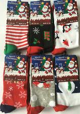 Kids Christmas Socks Boys Girls 6 Pairs Ladies Christmas design Socks