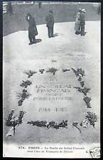 FRANCE~PARIS~Tombe du Soldat Francais~L'Arc de Triomphe