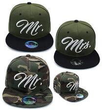 Cappy Cap Girlfriend Boyfriend Set Mr. + Mrs. Partner Paar Couple Hat Military