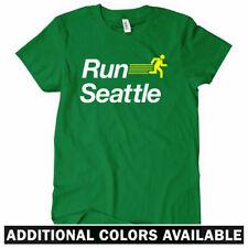 RUN SEATTLE V2 Women's T-shirt - 206 Running Seahawks Mariners Track - S-2XL