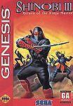 Sega Genesis Shinobi III 3 Return of the Ninja Master Game 16 bit No Manual.