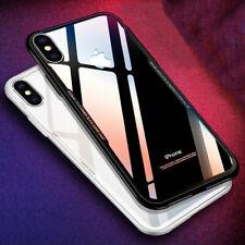HANDY HÜLLE + PANZER GLAS FOLIE Für iPhone X 7 8 Plus 6s Schutz Tasche Case Etui