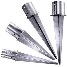 Einschlagbodenhülse rund Einschlaghülse Stahl feuerverzinkt GAH 1 Stück