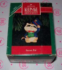 HALLMARK CHRISTMAS KEEPSAKE ORNAMENTS 1992 SECRET PAL  NEW IN BOX