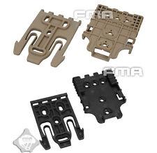 FMA Safariland Holster QLS Quick Locking System Kit TB1042 DE/BK