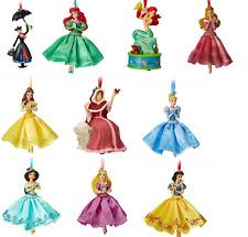 Disney Store Christmas Tree Sketchbook Ornament Belle Ariel Jasmine 2018 New