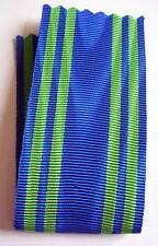 FRANCE: ruban 14 cm x 37 mm pour la médaille de chevalier du mérite maritime.