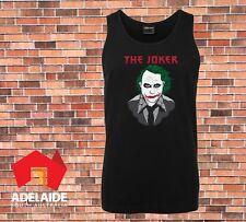 JB's Singlet The Joker Cool Batman Dark knight Retro Gaming design Small to 5XL