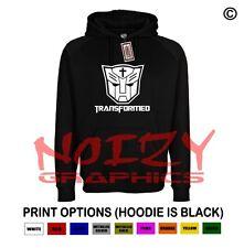 Transformed Cross Christian Hoodie Black Sweatshirt Jesus Religious Rock Worship