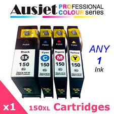 1 x Ausjet 150XL non-OEM new Ink Cartridge for Lexmark Pro 715/915,S315,415,515