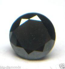 1.00~6.00Ct Black Round/Princess/Pear/Heart/Oval/Cushion Shape Solitaire Diamond