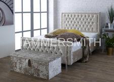 Special Princess Crushed Velvet/ Designer Upholstered Beds SALE