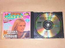 CD / COMPIL' DES SOIREES 3 / TITRES ENCHAINES A L'ORGUE