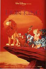 Vintage Lion King Movie Poster A3/A2/A1 Print