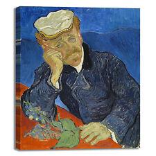 Van Gogh ritratto del dottor Gachet quadro stampa tela dipinto telaio arredo