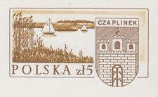 POLAND 1986 **MNH Postcard Cp#933 700 years of Czaplinek