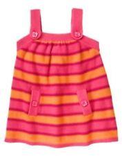 GYMBOREE FALL HOMECOMING STRIPE SWEATER JUMPER DRESS 3 6 3T 5T NWT