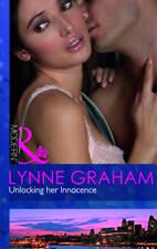 Unlocking her Innocence (Mills & Boon Modern), Good Condition Book, Graham, Lynn