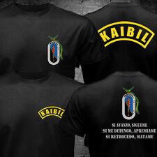 Kaibil Kaibiles Guatemalan Special Force Army Military Black Camiseta T-shirt