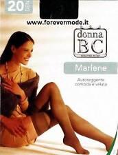 10 Pares Medias Donna BC en filanca 20 denier cómodo e transparente art Marlene