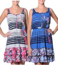 Smash Barcelona S-XXL UK 10-18 RRP ?45.50 Luciana Rara Dress Button Top Floral