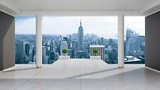 Fototapete Tapete Wandbild Vlies F00873 New York Panorama #GESCHENK GRATIS#